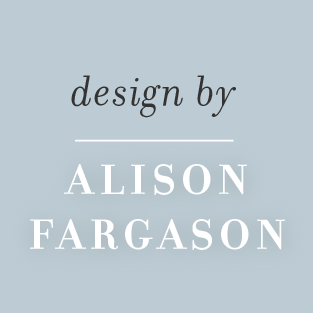 Design by Alison Fargason
