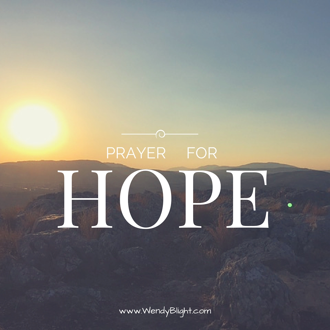Oceans Apart Day After Day: Prayer For Hope