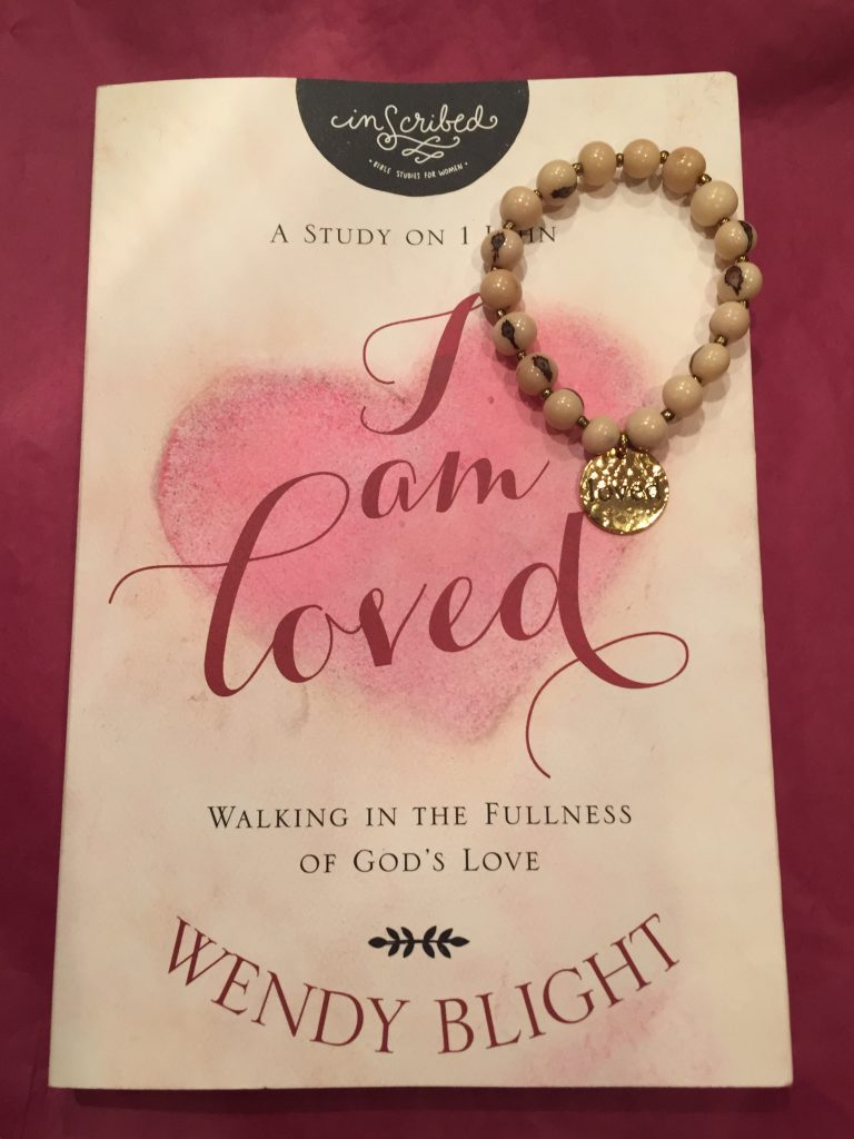 "Giveaway of #IAmLoved and Fashion and Compassion ""Loved"" bracelet at wendyblight.com."