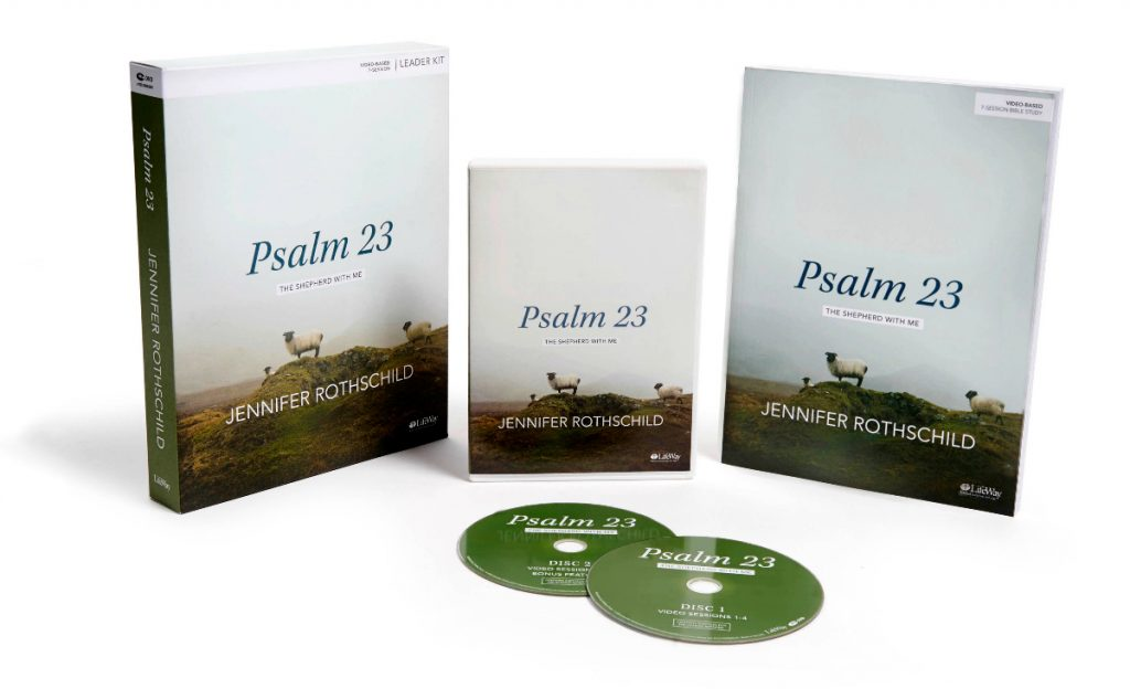 Psalm 23: The Shepherd With Me by Jennifer Rothschild. A LifeWay Bible Study,.