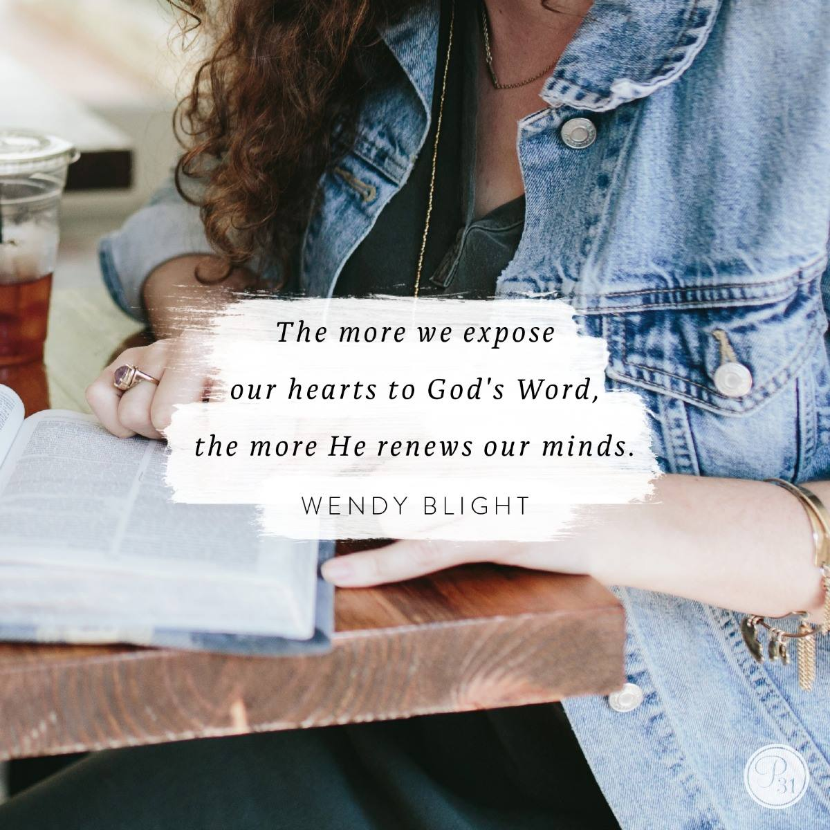 Praying the promises of God series by Wendy Blight.